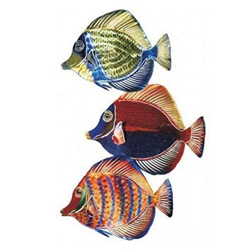 Next Innovations Metal Wall Art – Angel Fish Three Piece Set