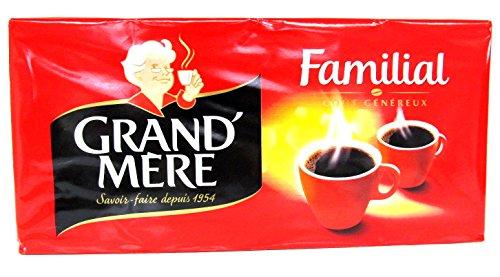 Café Grand'Mère Familial gemahlen 4x250g