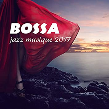 Bossa jazz musique 2017: Une cocktail party, Guitar et saxophone sensuelle, Lounge  plage bar, Mellow piano musique