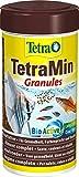 TetraMin Granules, Hauptfutter in Granulatform für alle kleinen Zierfische, 250 ml Dose