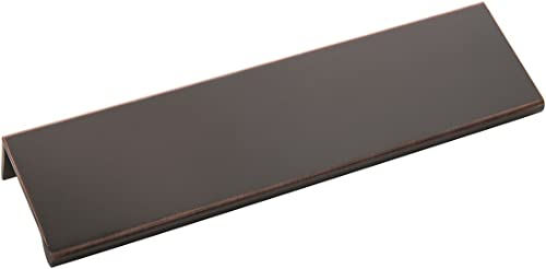 popular Hickory Hardware HH074888-OBH Rotterdam Collection wholesale Lip Pull 160mm outlet online sale Center Oil-Rubbed Bronze Highlighted Finish sale