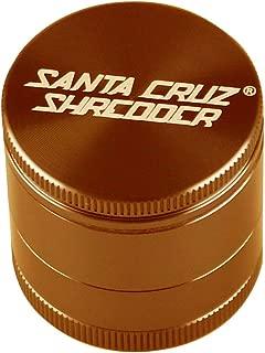 SANTA CRUZ SHREDDER - SMALL 4 PIECE GRINDER GOLD/ORANGE 1.625