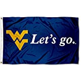 College Flags & Banners Co. West Virginia Mountaineers Let's Go Flag