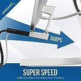 Zoom IMG-1 sabrent hub 4 porte usb