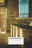 Composition Notebook: Urban Landscapes Job In Pachuca Pachuca Wide Ruled Note Book, Diary, Planner, ...