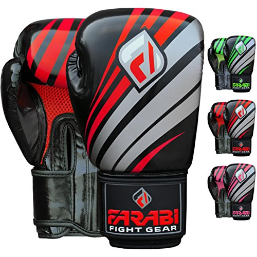 Farabi Far-Tech Boxing Gloves Synthetic Leather Boxing Gloves