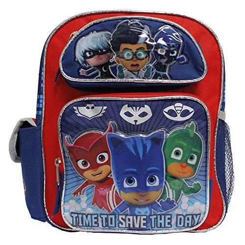 PJ Mask 12 inch Small Children School Backpack - Catboy Owlette Gekko Romeo