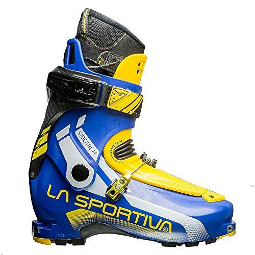 La Sportiva Sideral 2.0 - Botas de esquí de travesía, Color Amarillo/Azul, Talla 27.5