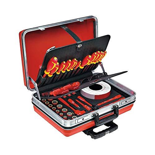 Stahlwille 96838193 96838193 - Juego de herramientas en maleta 13300 VDE (peso 11,4 kg)