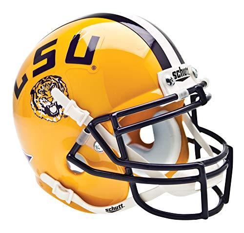Schutt NCAA LSU Collectible Mini Football Helm