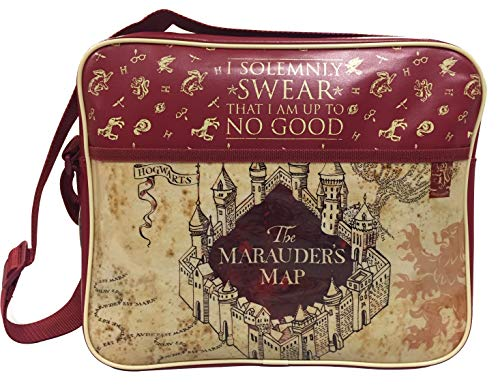 Harry Potter Marauder's Map Messenger Bag School Cross Body Bag