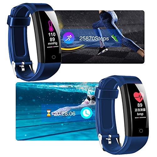 Reloj Inteligente deportivo Smartwatch Pulsera Inteligente W6, Rastreador De Actividad A Prueba De Agua Y Monitor De Frecuencia Cardíaca Con Reloj Deportivo De Recuento De Pasos Saludables Monitor Int