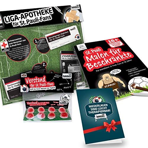Alles für St. Pauli-Fans by Ligakakao.de St. Pauli Kaffee Becher ist jetzt das GROßE Saison Notfall Set
