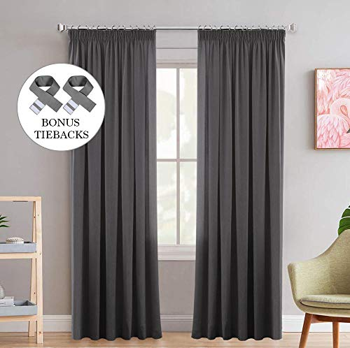 Super Soft Blackout Thermal Insulated Pencil Pleat...