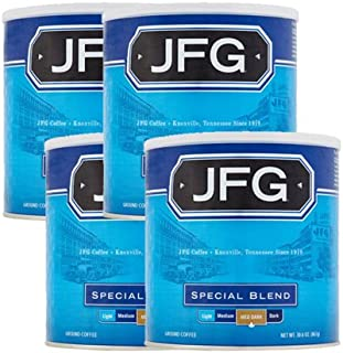 JFG 30.6 oz Canister Special Blend Ground Coffee, 4 Pack