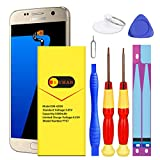 Galaxy S7 Battery, (Upgraded) Euhan 3400mAh Li-Polymer Internal Replacement Battery for Samsung Galaxy S7 G920V(Verizon) G930A(at&T) G930T(T-Mobile) G930P(Sprint) with Repair Replacement Kit Tools