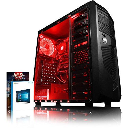 VIBOX Standard 3L Gaming PC Ordenador de sobremesa con War Thunder Cupón de...