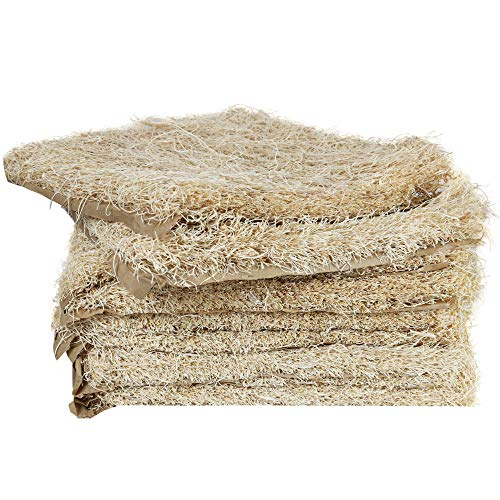 windy ridge co. Natural Chicken Nesting Pads - Aspen Excelsior Bedding Hen Nest Box Liners - Made in USA - 13x13 Inches - 10 Pack