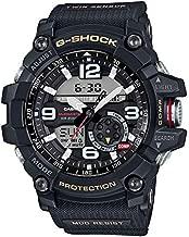 Men's Casio G-Shock Master of G Mudmaster Twin Sensor Black Watch GG1000-1A