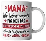 vanVerden Tasse Mama Wir haben versucht für dich das beste