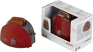 Theo Klein 9578 Bosch broodrooster I Met mechanische roostertechniek I Inclusief 2 sneetjes speelgoedtoast I Afmetingen: 1...