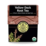 Organic Yellow Dock Root Tea – 18 Bleach-Free Tea Bags –...