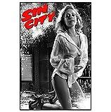 HJZBJZ Sin City Film Brittany Murphy Leinwand Poster Kunst
