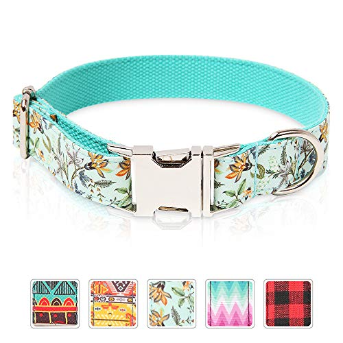 Timos Dog Collar Personalized Soft Comfortable Adjustable Collars for Small Medium Large Dogs
