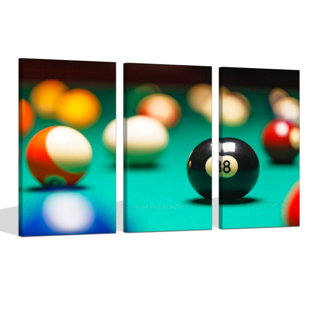 Decoración de arte visual, 3 piezas, para jugar a la piscina ...