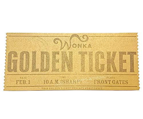 映画 チャーリーとチョコレート工場 「ゴールデン チケット」 ウィリー ウォンカ/ジョニー デップ