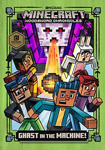 Ghast in the Machine! (Minecraft Woodsword Chronicles #4) (A Stepping Stone Book(TM))