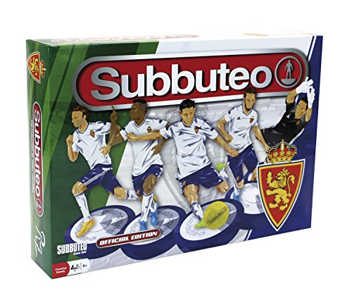 Eleven Force Subbuteo Playset Real Zaragoza (81847), Multicolor, Ninguna