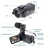 Cámara Video Cámara Videocámara 16X Zoom Digital Videocámara con 3.0'Cámara de Control Remoto LCD (Z9)