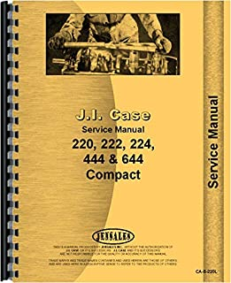 Case 220 Lawn and Garden Tractor Service Manual (SN# 9734870 and up)