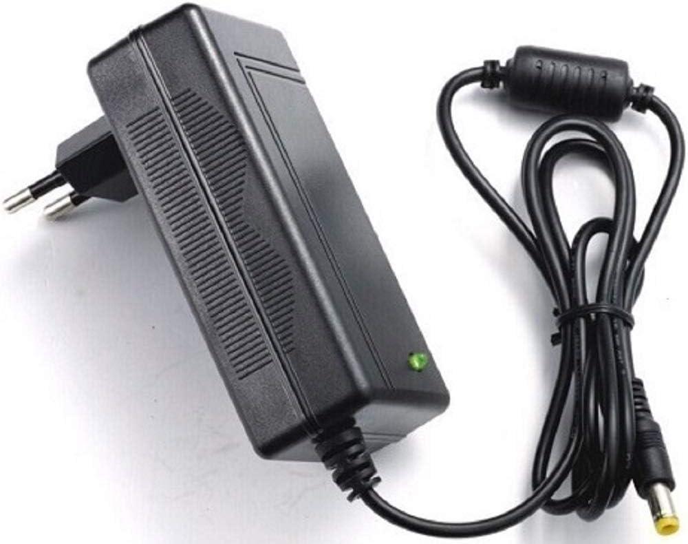 CARGADOR ESP Cargador Corriente 24V Compatible con Reemplazo para Patinete e-Scooter JDBUG Fun ES112 Recambio Replacement