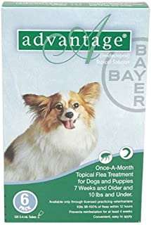 Advantage Green Dogs 0 10 pounds