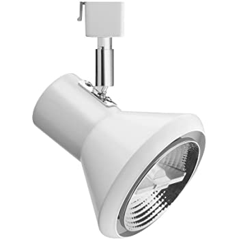 Mr16-Compatible Black Acuity Brands Lighting Inc. Lithonia Lighting LTH7000 MR16 DBL M12 Aluminum One-Light Front Loading Commercial Track Head