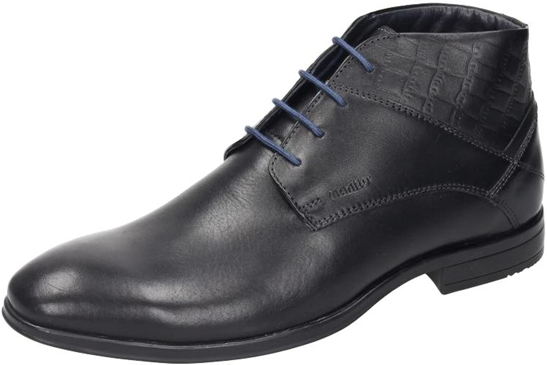 Manitu Men's 660370 Ankle Boots, Black