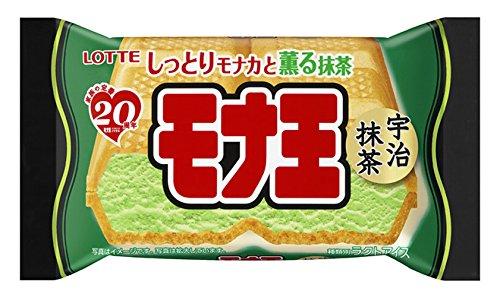 ロッテ モナ王 宇治抹茶 160ml×20袋