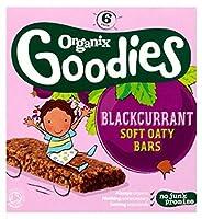 Organix Goodies Blackcurrant Soft Oaty Bars 6 x 30g (180g) (Pack of 2) - Organixグッズは、ソフトOatyバー6×30グラム(180グラム)をブラックカラント (Organix) (x2) [並行輸入品]