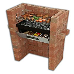 Ideal combination of BBQ and oven / pizza oven, cooks food in oven while you BBQ above Oven also excellent for keeping food warm after BBQ 3 Adjustable grill heights to control cooking temperature Heavy duty vitreous enamel finished firetray which is...