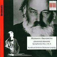 Symphonies Nos. 3 & 4 by JOHANNES BRAHMS (2008-07-08)