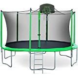 Merax 14FT 15FT Trampoline with Enclosure Kids Trampoline with...