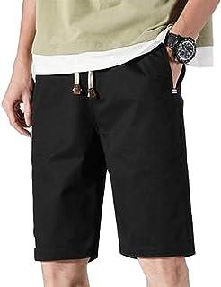 [ベンケ] ハーフパンツ メンズ 5分丈 短パン 春 夏 きれいめ 無地 大人 カジュアル 半ズボン 男 大きいサイズ