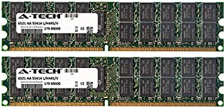 4GB KIT 2X 2GB for IBM-Lenovo eServer Series xSeries 226 8488-xxx 226 8648-xxx 260 8865-xxx 336 8837-xxx 346 8840-xxx 366 8863-xxx 460 8872-xxx DIMM DDR2 ECC Registered 667MHz Single Rank RAM Memory