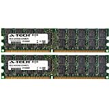 A-Tech 8GB (2x4GB) ECC RAM for Intel SS Series SSR212MA | DDR2 800MHz ECC RDIMM PC2-6400 2rx4 Registered DIMM Server Memory Kit