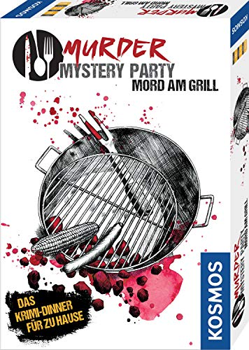 Murder Mystery Party - Mord am Grill: 6 - 8 Spieler