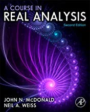 Best a course in real analysis Reviews