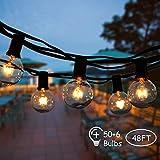 ➤【Decorazioni Romantiche】 Le lucine sono perfette per matrimoni, feste di compleanno e altre celebrazioni. Le luci sono ideali per creare un'atmosfera accogliente e festosa all'aperto. Effetti straordinari nell'illuminazione di interni e illuminazion...