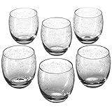 Leonardo Whisky Trinkglas Chateau, Whisky-Gläser mit zartem Muster, modernes Gläser-Set 400-ml...